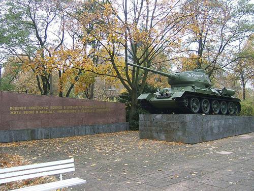 T-34/85 Tank Berlin-Karlshorst