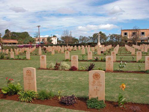Commonwealth War Cemetery Diego Suarez