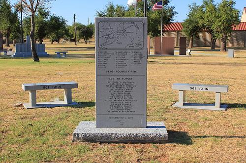 Monument 561st Field Artillery