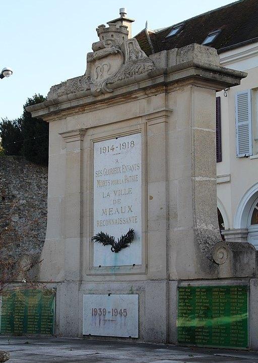 War Memorial Arrondissement Meaux