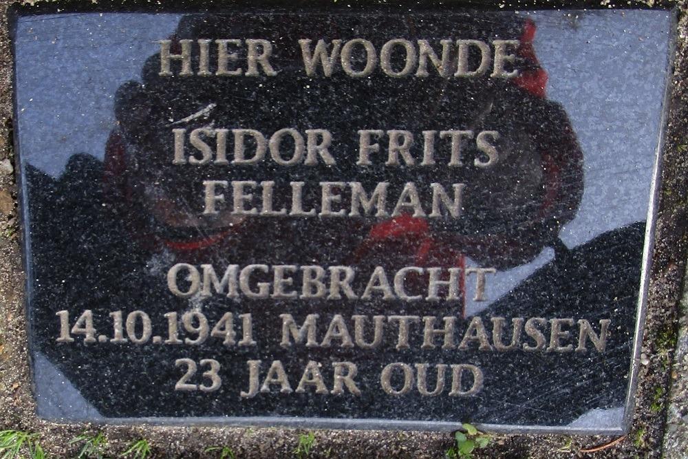 Herdenkingssteen Zutphensestraat 141