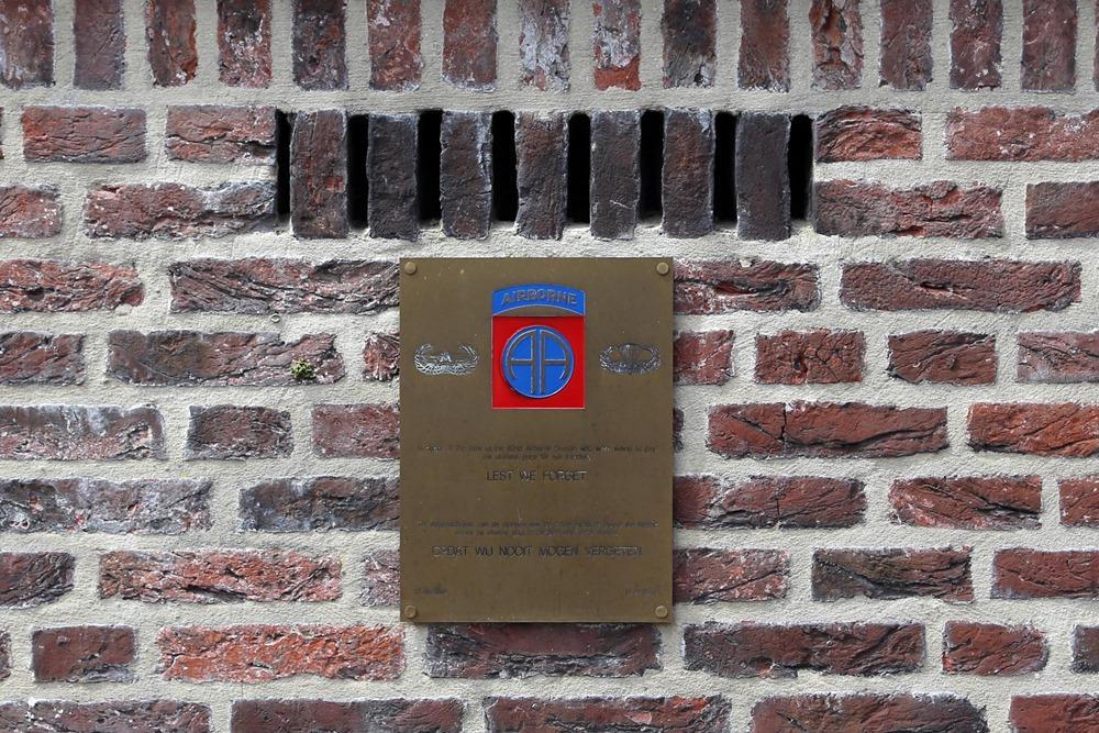 Plaquette 82ste Airborne Division Mook