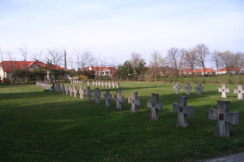 Hungarian War Cemetery Szombathely