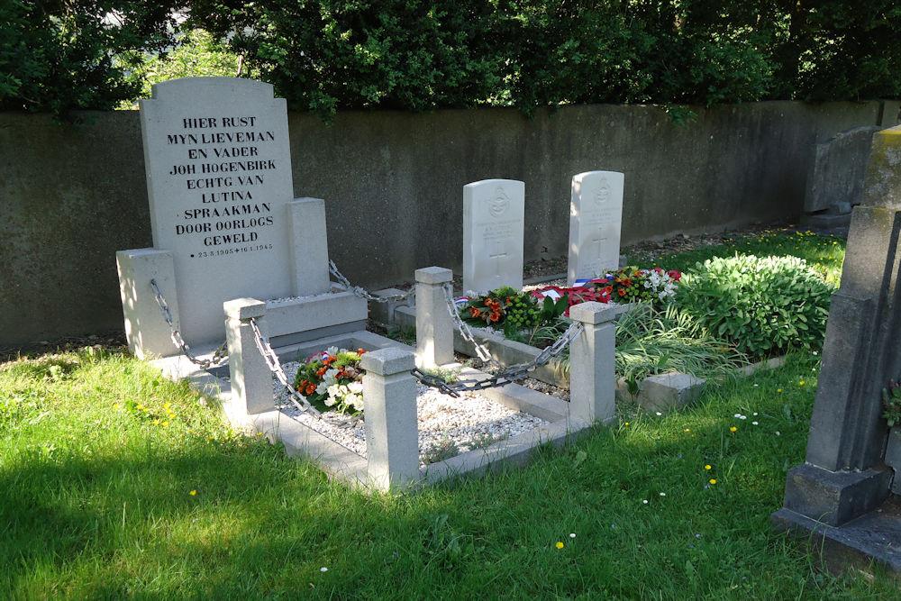 Dutch War Grave Reformed Dutch Cemetery Grevenbicht