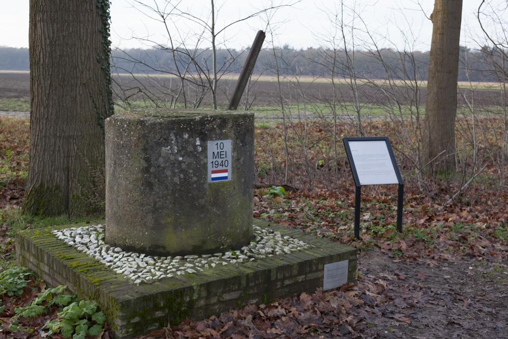 Monument Wegversperring 10 Mei 1940
