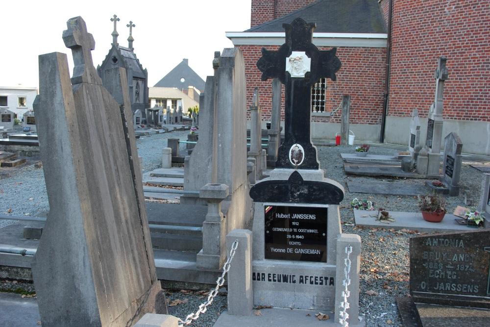 Belgian War Grave Onkerzele