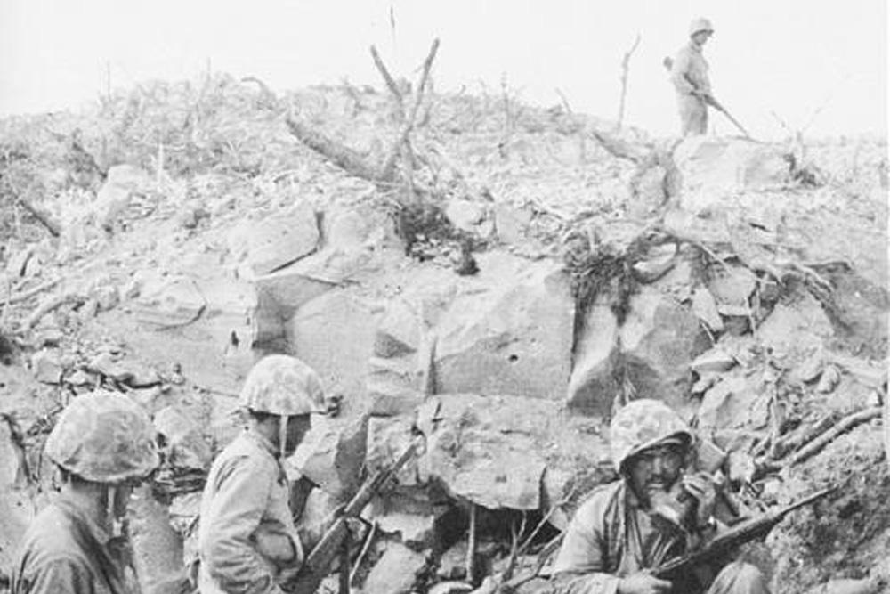 Iwo Jima - Hill 165
