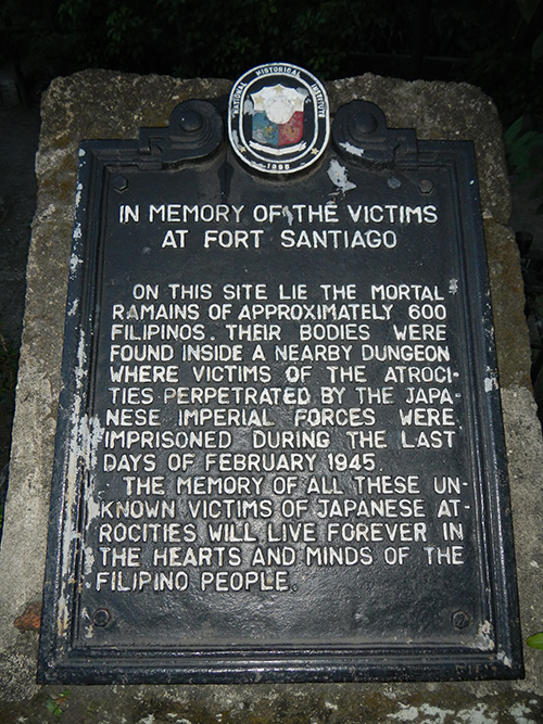 Mass Grave Filipinos