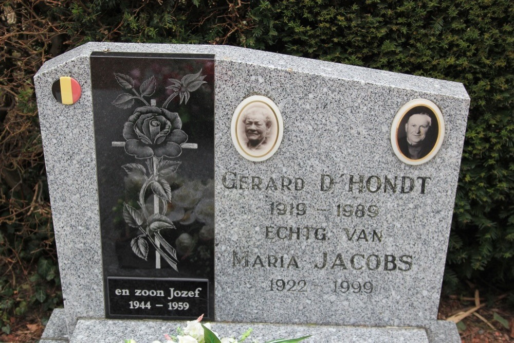 Veteran War Graves Baasrode-Vlassenbroek