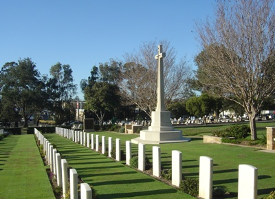 Commonwealth War Graves Brisbane Cemetery