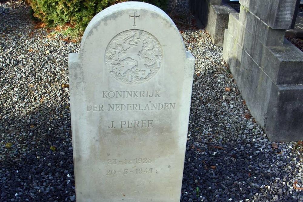 Nederlands Oorlogsgraf Rooms Katholieke Begraafplaats Sint Pieter Maastricht