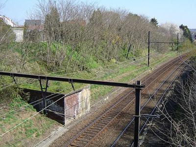 KW-Linie - Spoorwegbunker F8 Heverlee