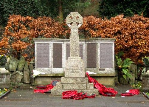 War Memorial Congleton
