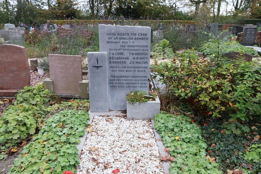 Commonwealth War Graves Municipal Cemetery Winkel