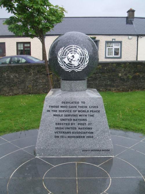 Monument VN-vredesoperaties Portlaoise
