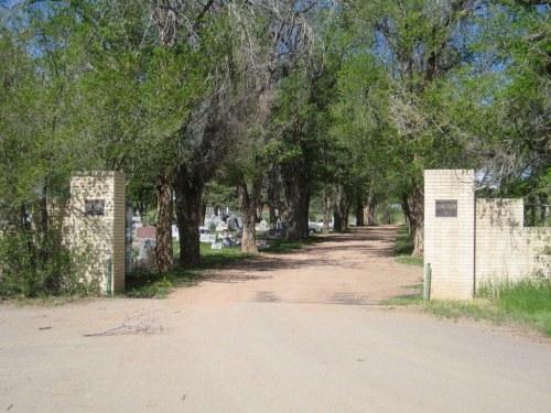 Commonwealth War Grave Huerfano Masonic Cemetery
