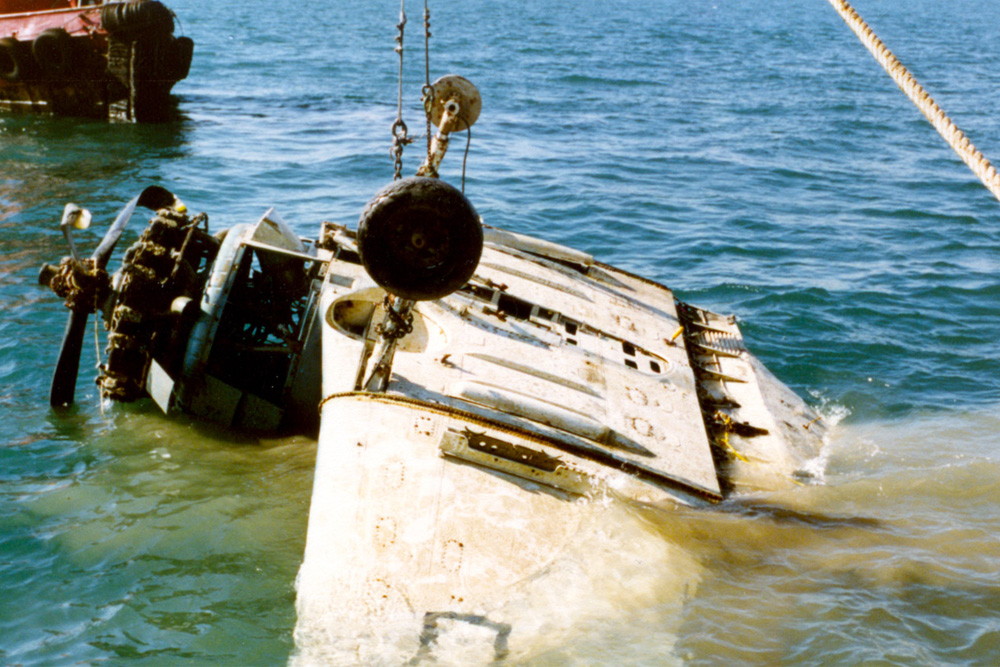 Crash Site Douglas SBD-5 Dauntless