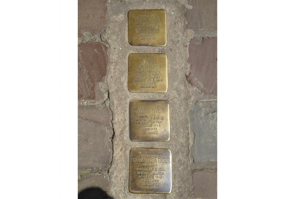 Stumbling Stones Rue des Tanneurs 90