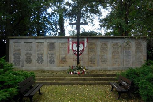 Monument Poolse Dwangarbeiders