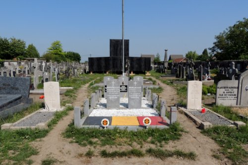 Belgische Oorlogsgraven Boekhoute