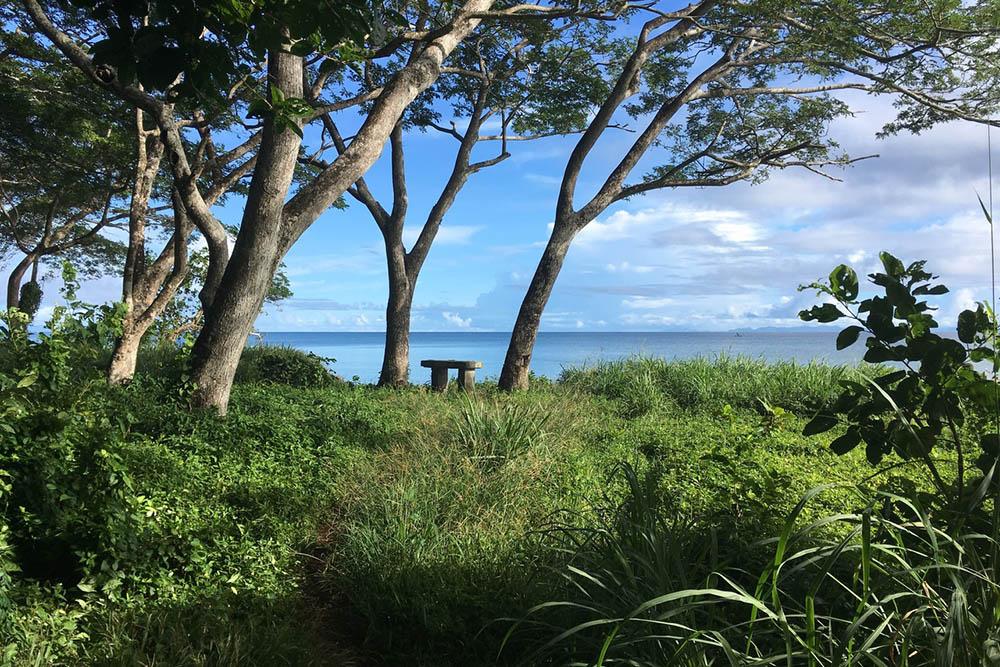 Japanese Veteran Memorial Bench Guadalcanal