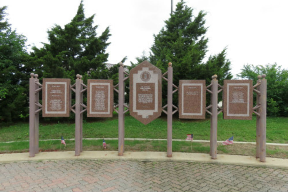 The Air Force Medal of Honor monument