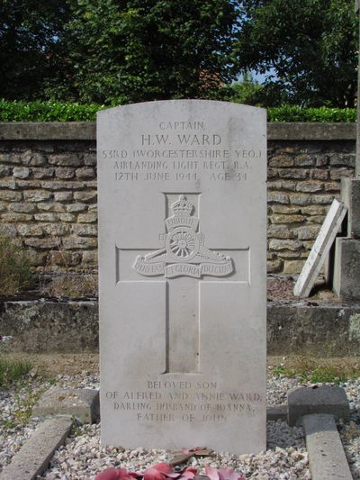 Commonwealth War Graves Breville