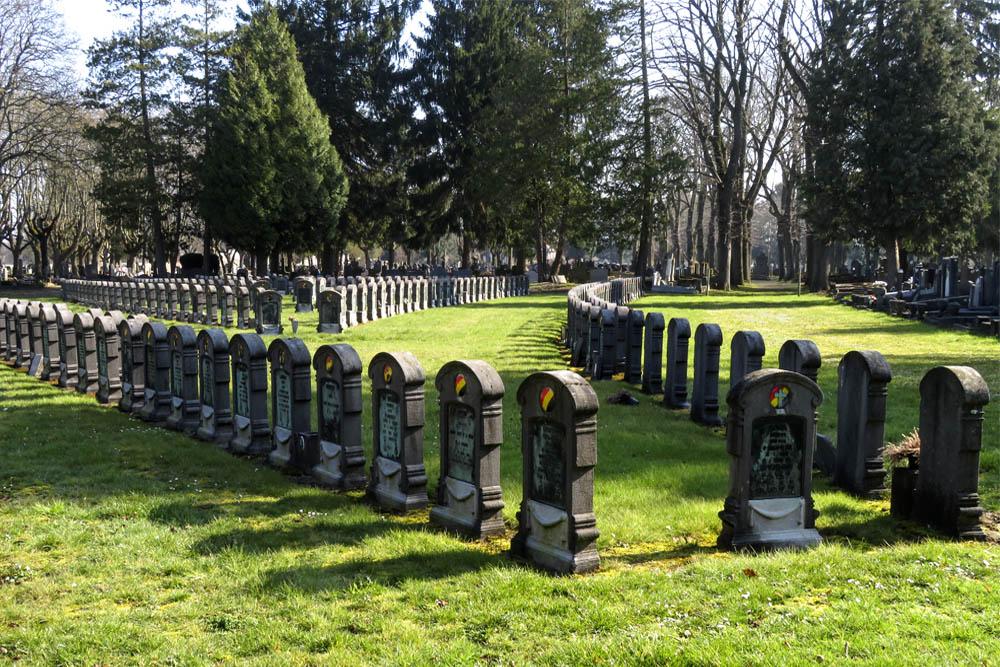 Belgian War Graves Ste. Walburge Liège