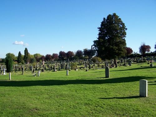 Commonwealth War Graves Aldershot Civil Cemetery