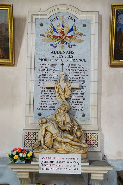 War Memorial Abbenans Church
