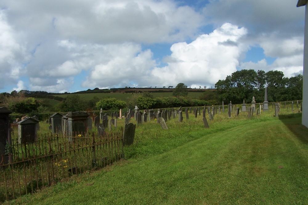 Commonwealth War Graves Glynarthen Congregational Chapelyard