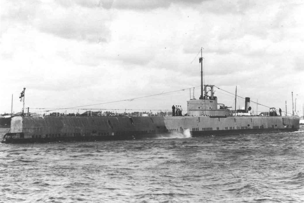 Shipwreck Submarine U-B (H.M.S. Seal)