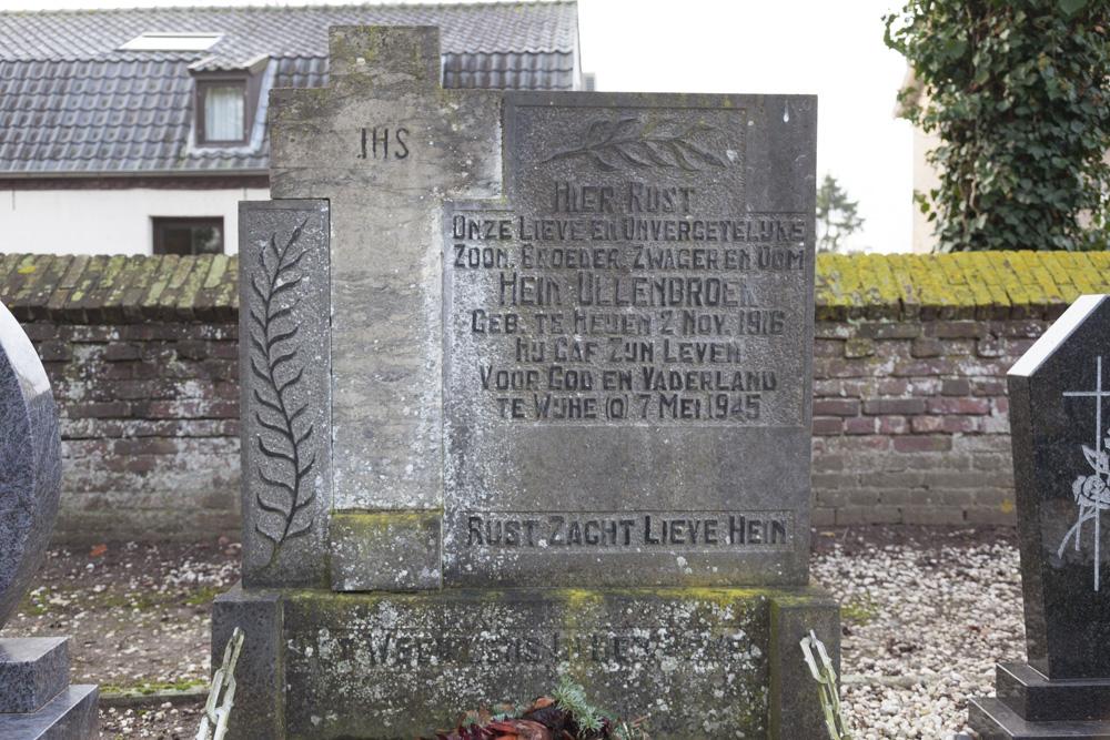 Nederlands Oorlogsgraf Rooms Katholieke Begraafplaats Heijen