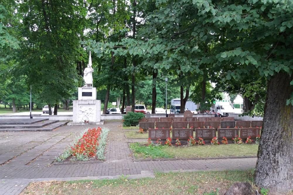 Sovjet Oorlogsbegraafplaats Jurbarkas