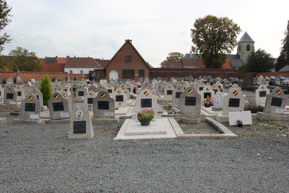 Veteran War Graves Ellezelles