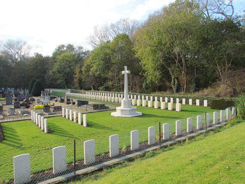 Oorlogsgraven Gemeentelijk Begraafplaats De Panne