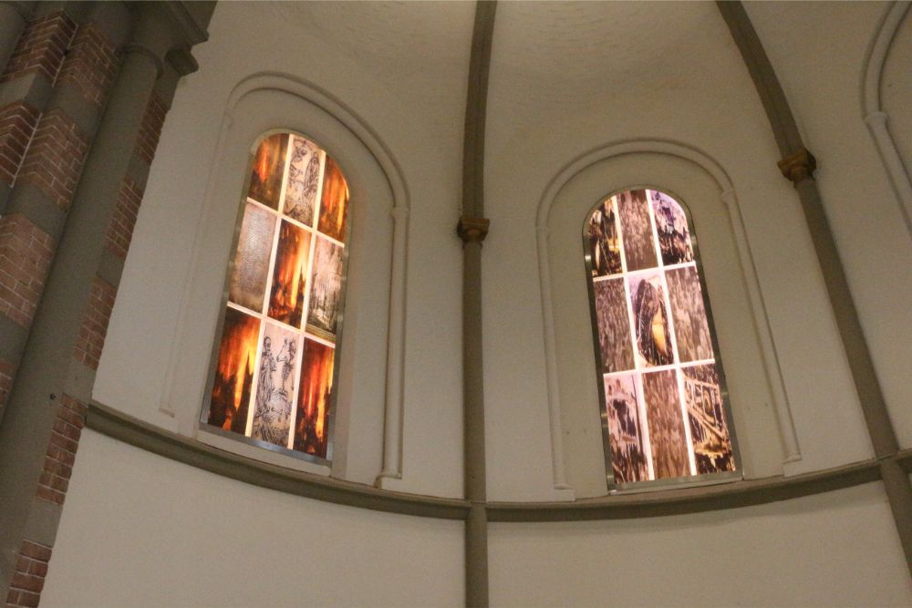 Memorial Window Sint-Petrus Church