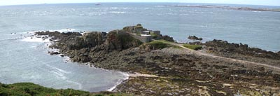 Atlantikwall - Fort Clonque (Widerstandsnester Steinfeste)