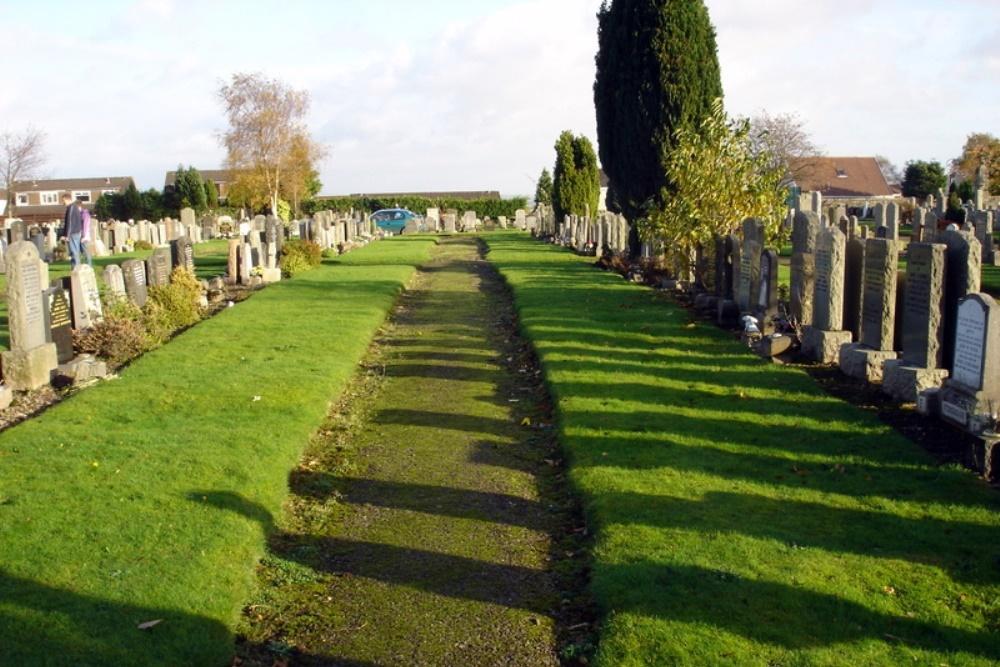 Commonwealth War Graves St. Ninians Parish Burial Ground