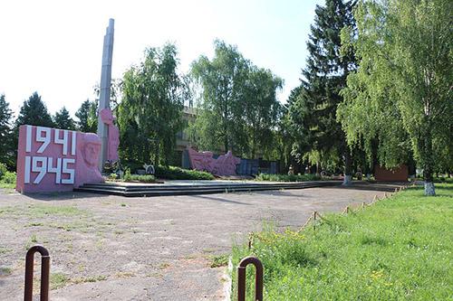 Mass Grave Soviet Soldiers Illintsi