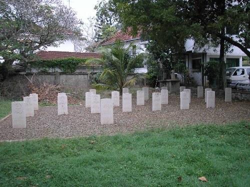 Oorlogsgraven van het Gemenebest Jaawatte Muslim Cemetery