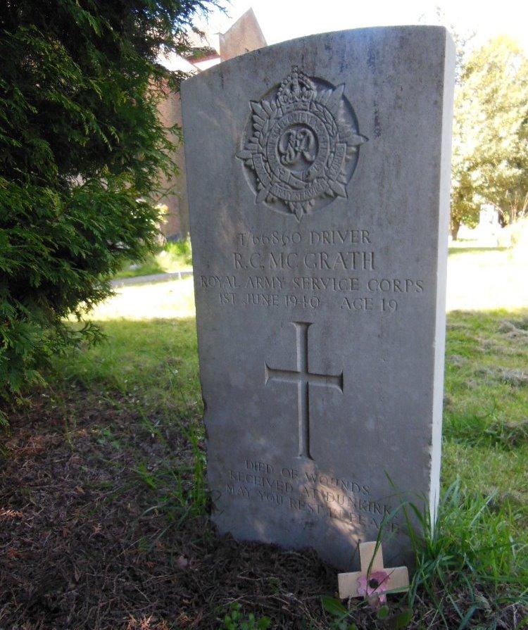 Oorlogsgraven van het Gemenebest Crawley Monastery Burial Ground