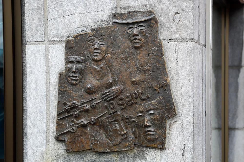 Plaque Bombardment 19 September 1944