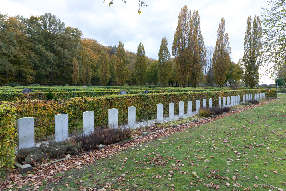 Commonwealth War Graves General Cemetery Gorssel