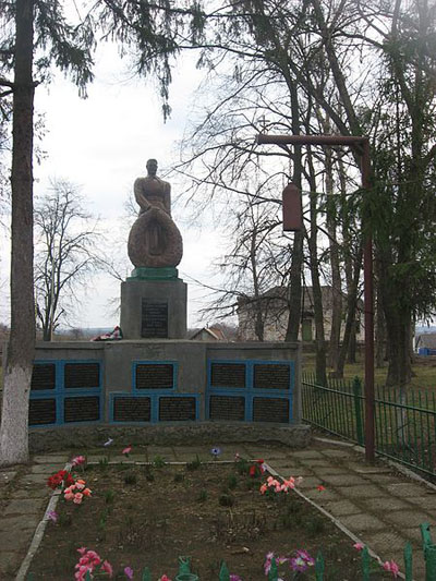 Mass Grave Soviet Soldiers Bytytsya