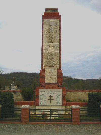 Franse Oorlogsgraven Buzet-sur-Tarn