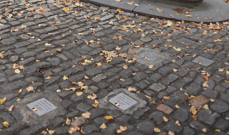 Gedenkstenen Koninklijk Atheneum Mechelen