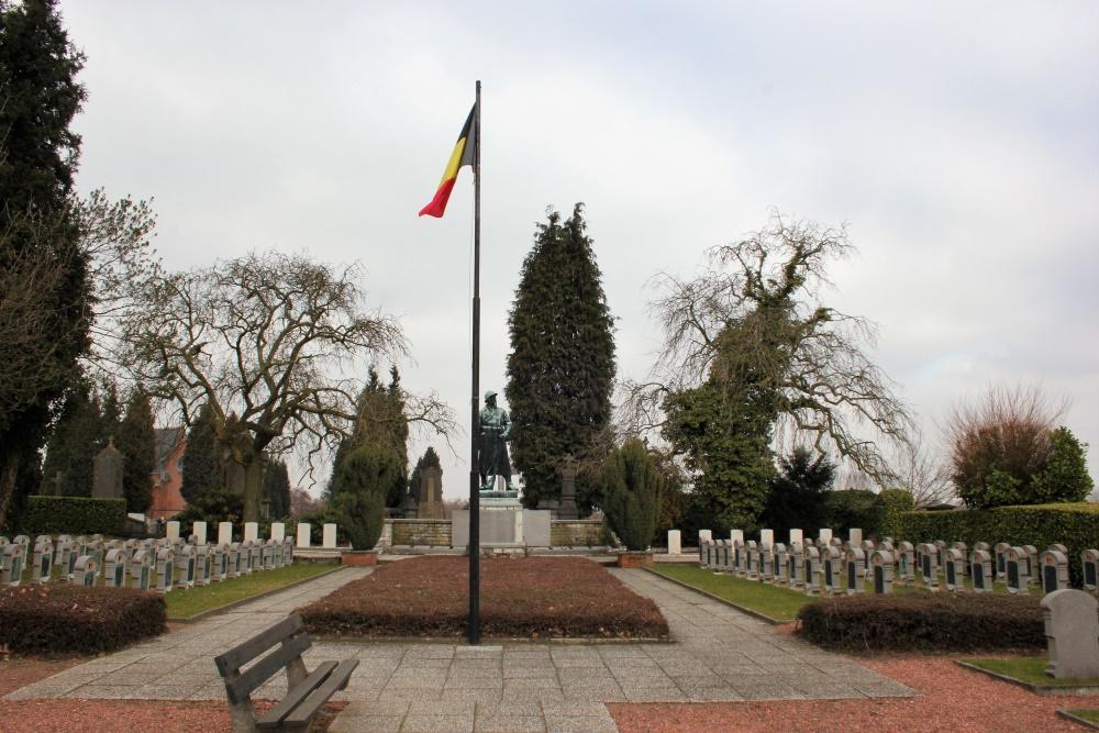 Belgian War Cemetery Dendermonde