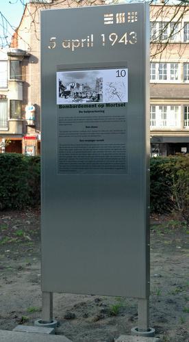 Paneel 10 Bombardement op Mortsel 5 april 1943