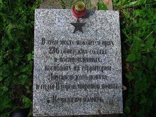 Soviet War Cemetery Jabloniec